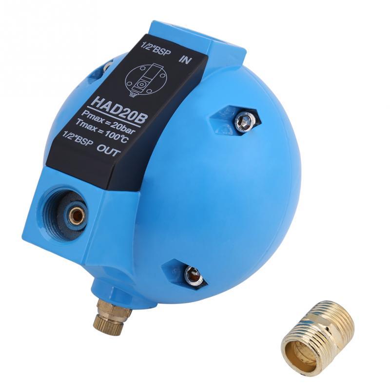 Analytisch 1 Stück Had20b Automatische Schwimmer Ablauf Ventil Kondensat Mechanische Runde Float Ablauf Ventil 1/2bsp 400l/h 20bar Sanitär