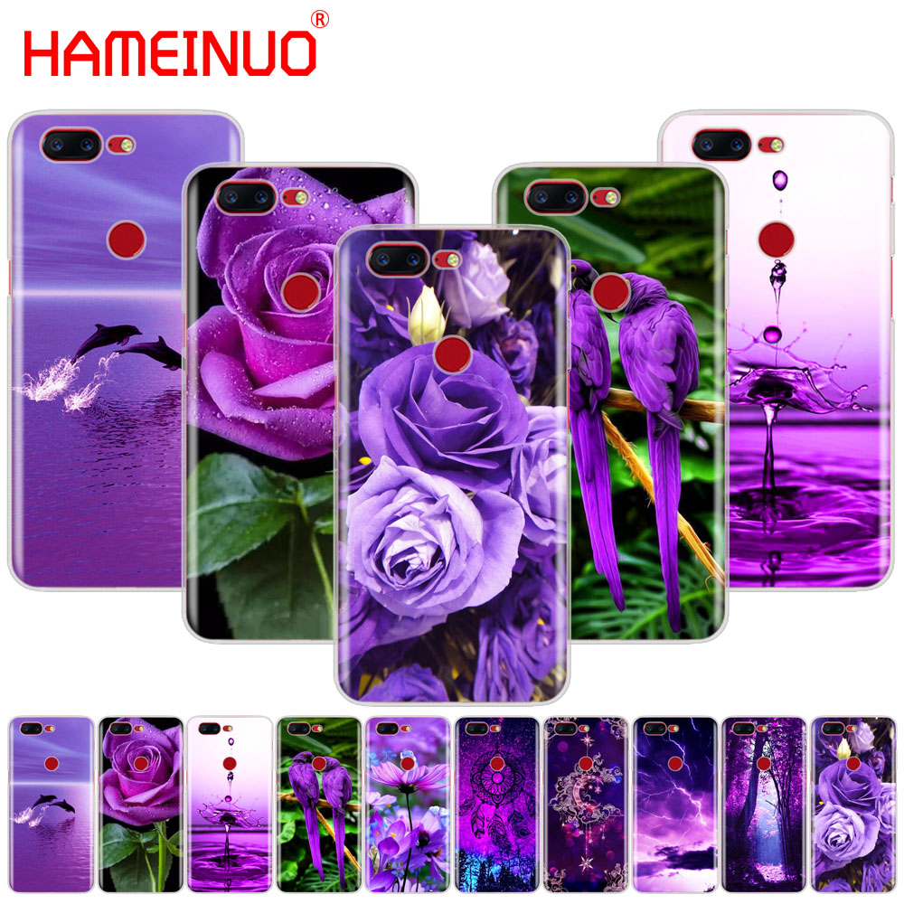 HAMEINUO infinity on purple cover phone case for Oneplus one plus 6 5T 5 3 3t 2 X A3000 A5000