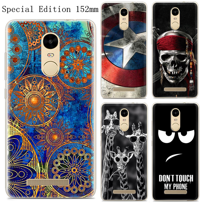 check out 4e39b 26f75 US $3.99 |For Xiaomi Redmi Note 3 Pro Prime Special Edition 152mm Case  Painted Silicone TPU Global Version International Phone Case-in Fitted  Cases ...