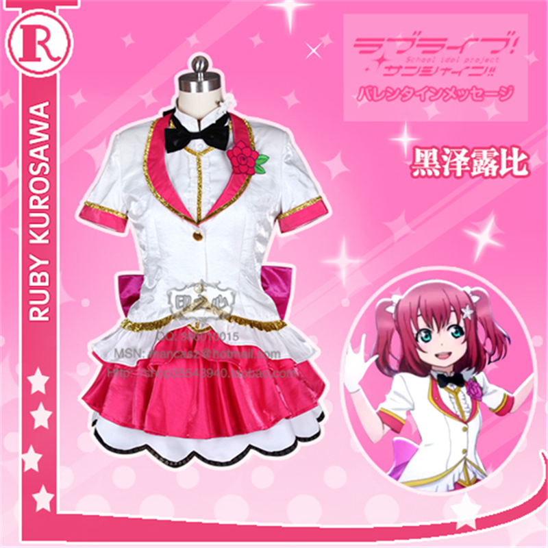 Здесь продается  Anime Love Live!Sunshine!! Theater Version Aqours Kurosawa Ruby Shows Dress Cosplay Costumes Free Shipping D  Одежда и аксессуары