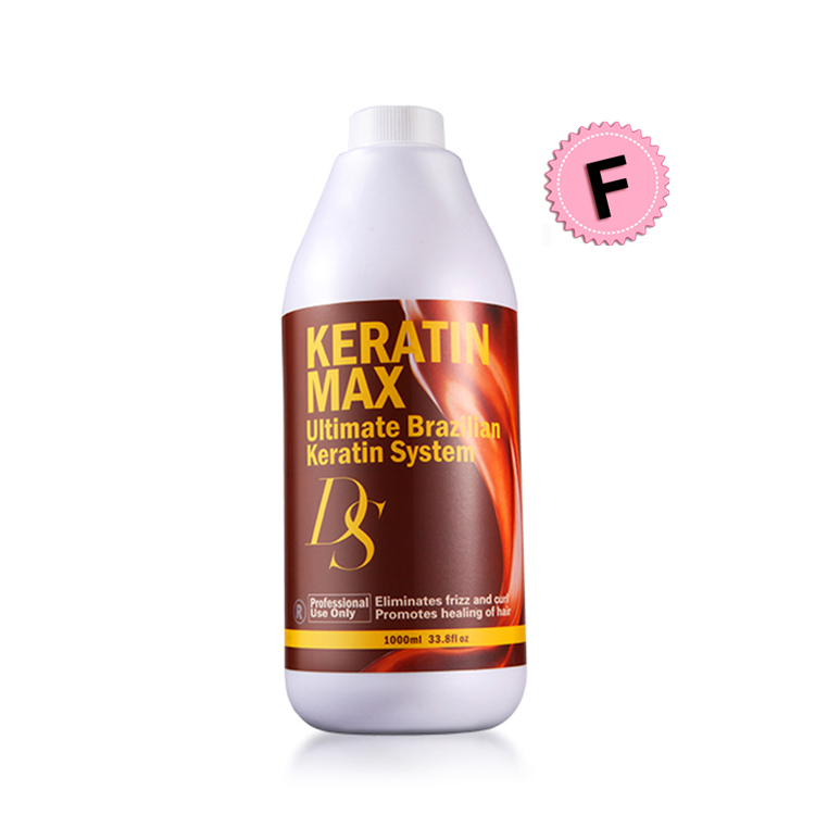 Hot Selling 1000ML Free Formalin DS MAX Brazilian Keratin Treatment Straighten and Repair Damaged Cruly Hair Cream Free Shipping top quality hot sale 1000ml brazilian keratin hair treatment 12% formalin straighten and repair damaged hair mask free shipping