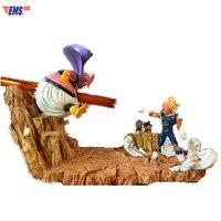 Dragon Ball DBZ Demonization Vegeta VS Majin Buu 1/6 GK Resin Statue Action Figure For Home Decoration X89
