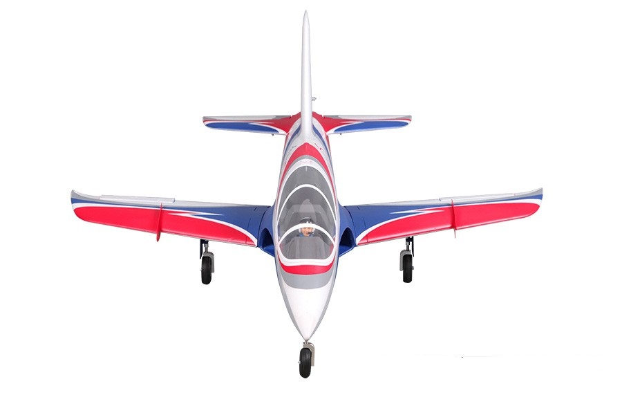 FMS RC Airplane Avanti Blue 70mm Ducted Fan EDF Jet High speed Big Scale Model Plane Aircraft PNP 6S Wingspan 900mm with Retract