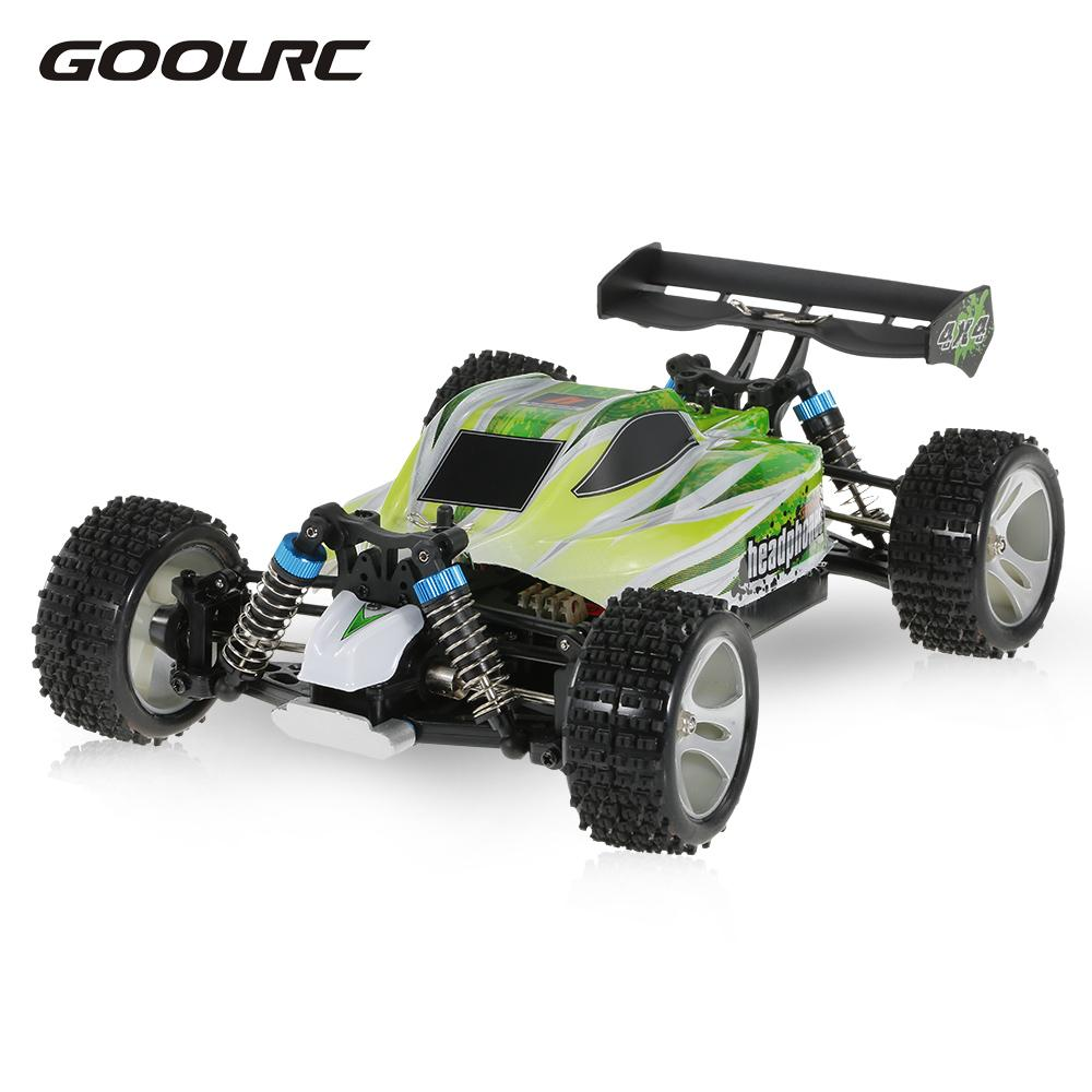GoolRC Toys A959-A A959-B RC Car 1/18 Scale 2.4G 4WD Electric RTR Off-road Buggy RC Cars SUV Toys Radio Remote Control RC Toy цены