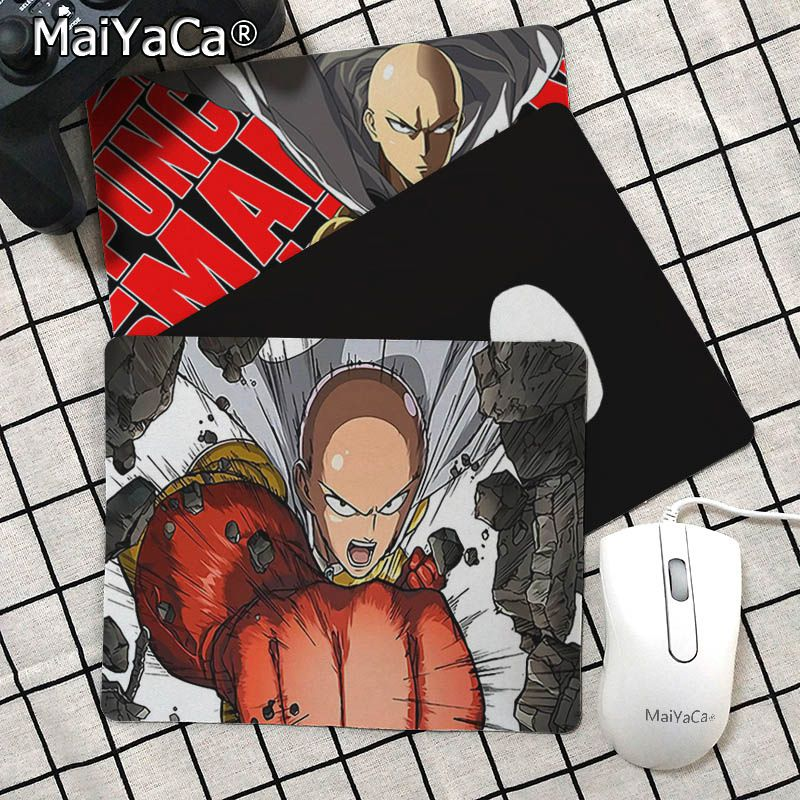 Maiyaca Vintage Cool one punch man Customized MousePads Computer Laptop Anime Mouse Mat Top Selling Wholesale Gaming Pad mouse