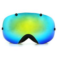 Copozz Polarized Ski Goggles 2 Double Lens UV400 Anti Fog Big Ski Glasses Skiing Snowboarding Goggles