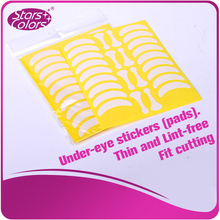 140 pairs hot sell Under Eye Pads Eyelash Exercises Eye stickers Paper Lint free 10pcs bag