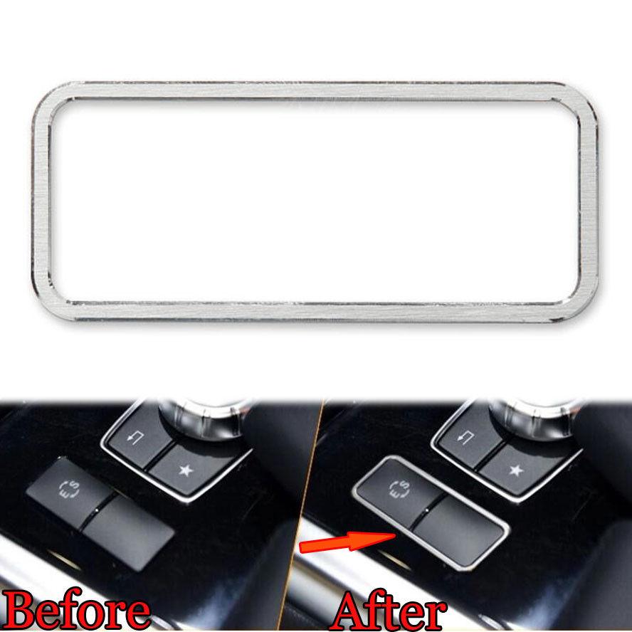 BBQ@FUKA 1x Aluminum Middle Console ES Button Cover Frame Trim ...