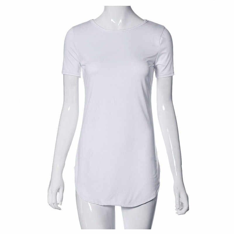 セクシーな女性ドレスシャツトップス半袖サイドスリットカジュアルパーティーミニドレスファッション黒、白女性の夏のドレス vestidos 2019