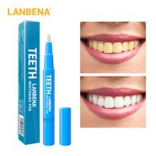 LANBENA Teeth Whitening Pen Tooth Gel Whitener Bleach Remove Stains oral hygiene Cleaning Kit Care Dental Tools