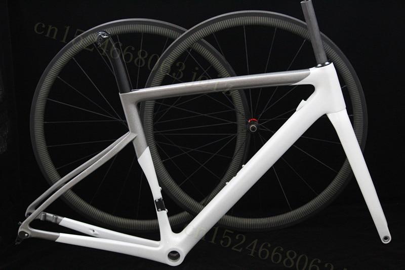 New Carbon Road Bike Frame T1000 UD ULIMATE Bicycle Frame V Disc Brake Aero Racing Bike Frame Or 38mm Disc Wheels