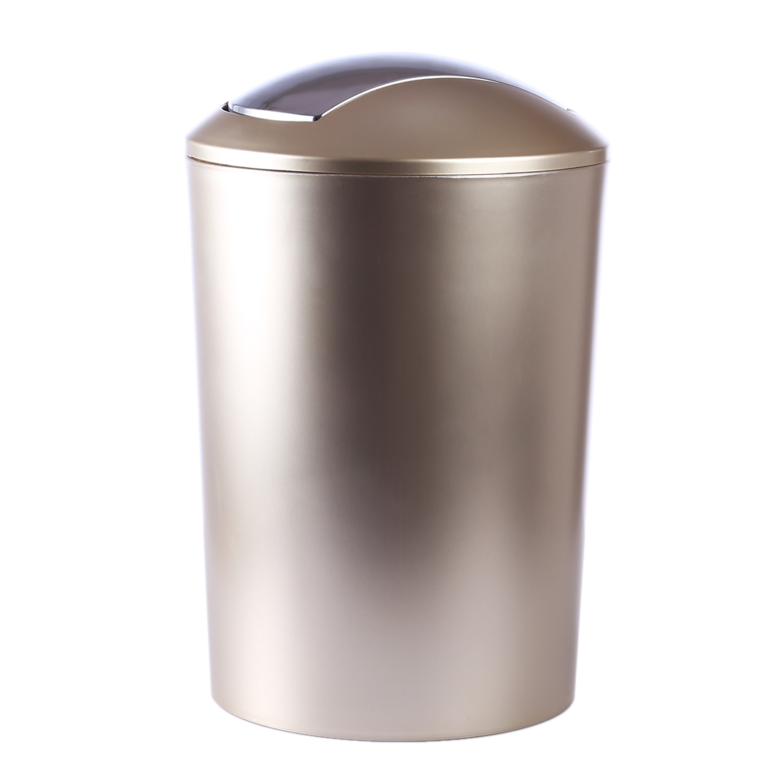 Us 1871 22 Offdrop Shipping 65l European Style Trash Garbage Can Wastebin With Lid Home Bedroom Kitchen Garbage Bins Silver In Waste Bins From