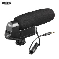 BOYA Cardioid Directional Condenser Microphone Mic for Canon Sony Nikon Pentax DLSR Digital Camera BY VM600 Microphone