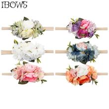 New Arrivals Flower Headband For Girls Artificial Flower Hair Band Summer Wreath Headwear Beach Garland Fashion Hair Accessories 2017 new 10pcs lot beach hair accessories kids flower headband bohemian style wreath garland girls birthday party hairband