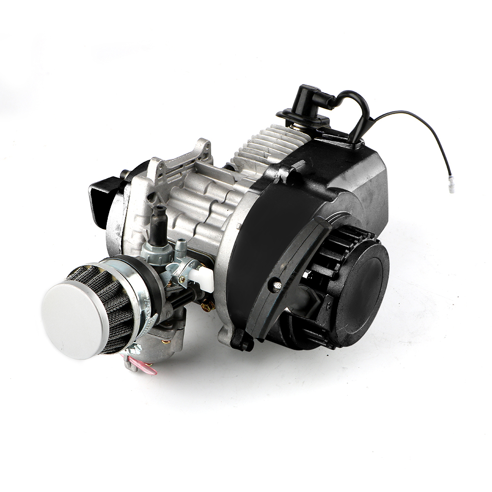 49CC 2 Stroke Engine Motor For Mini Pocket Bike Scooter Dirt Bikes ATV Quad Motorized Bicycle Motor Engine Accessories