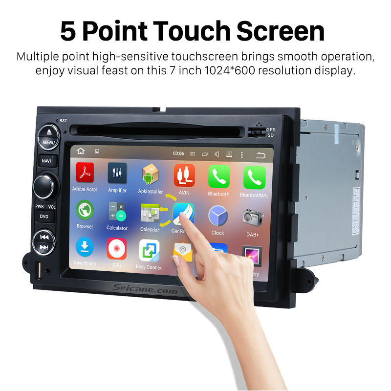 Seicane For 2007 2008 2009 Ford Edge Android 511 Touch Screen Dvd Rhaliexpress: 2006 Ford Escape Touch Screen Radio At Gmaili.net