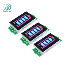 3Pcs 12.6V 3S Li-po Li-ion Lithium Battery Capacity Indicator Module Blue Display Electric Vehicle Battery Power Tester аккумулятор team orion li po 11 1в 3s 50c 4400мач