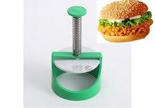 4  burger patty maker kitchen tool barbeque beef patty veggie burgers press patty salier the sex test