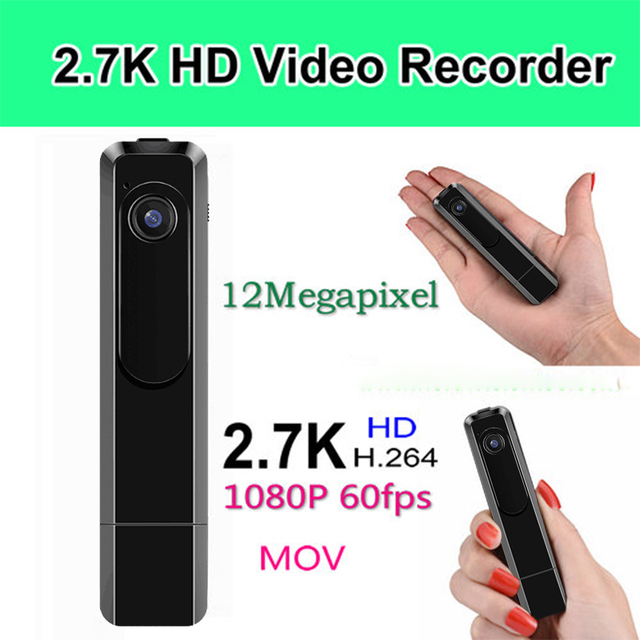 Portable Mini Camera 2.7K 30fps Mini DV 1080P Full HD 60fps Pen Camera Voice Recorder Pen Micro Camara DVR Video Camera Espia