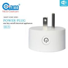 NEO Coolcam NAS-WR06W WiFi Smart US Socket Plug Sensor Mini Smart Plug Home Automation Alarm System Motion Alarm