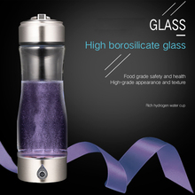 Rechargeable Rich Hydrogen Generator Anti-Aging Hydrogen Rich Water Maker Antioxidant ORP H2 Alkaline Water Ionizer Bottle YS005