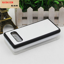 For Samsung S20 Plus /S20 Ultra/S10 LITE/S10 PLUS Case TPU+PC Rubber soft 2D Sublimation Blank Heat transfer Phone Cover Case