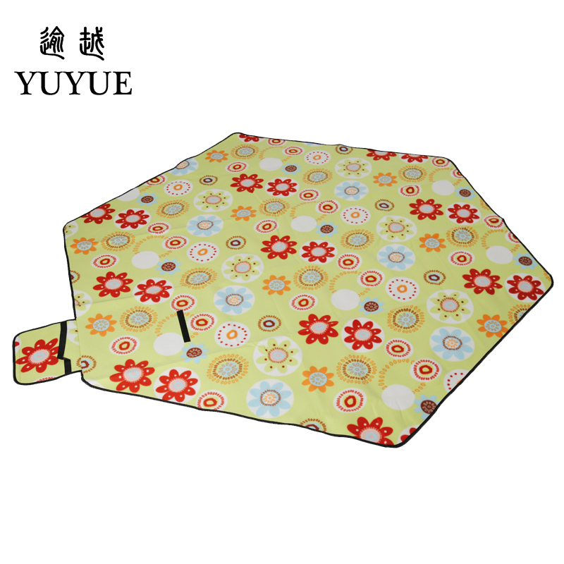 Big size picnic mat high quality suede aluminum file waterproof for tourist camping tent fishing picnic camping mat 1