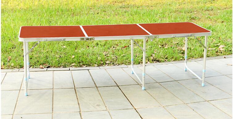 180 * 60 * 70 cm alumīnija sakausējuma saliekamais galds - Mēbeles - Foto 2