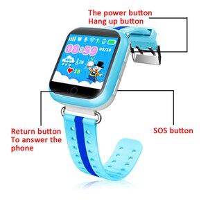 Image 2 - GPS חכם שעון Q750 Q100 תינוק חכם שעון עם 1.54 אינץ מגע מסך SOS שיחת מיקום מכשיר Tracker עבור ילד בטוח PK Q50 Q90