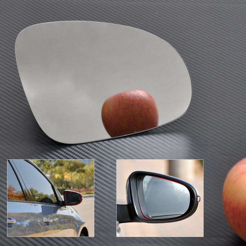 Para BMW 5 6 serie 03-10 Derecho Conductor Plano Placa de Vidrio Espejo Ala Eléctrico