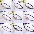 Accesorios Para el cabello Horquillas de Las Muchachas Niño cabelo tiara de Perlas de Cristal de noiva Coronas Joyería Nupcial de La Boda Adornos de Pelo Al Por Mayor