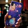For iphone 10 5 5S SE Case FOR iphone XR XS Max X Soft Space FOR iphone 8Plus Case For iphone 7 8 6 6s Plus 3D Relief Silicone 2