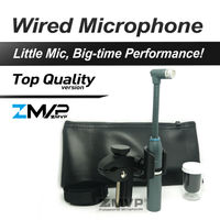 Free Shiping! Professional B 98 AMP Drums Percussion Gooseneck Cardioid Condenser Instrument Microphone Microfone Mic