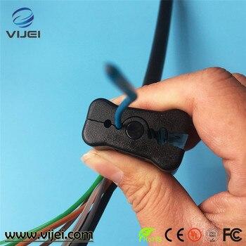 Fibre optique lâche Tube veste de câble découpeuse longitudinale câble décapant lâche Tube veste découpeuse Fiber décapant