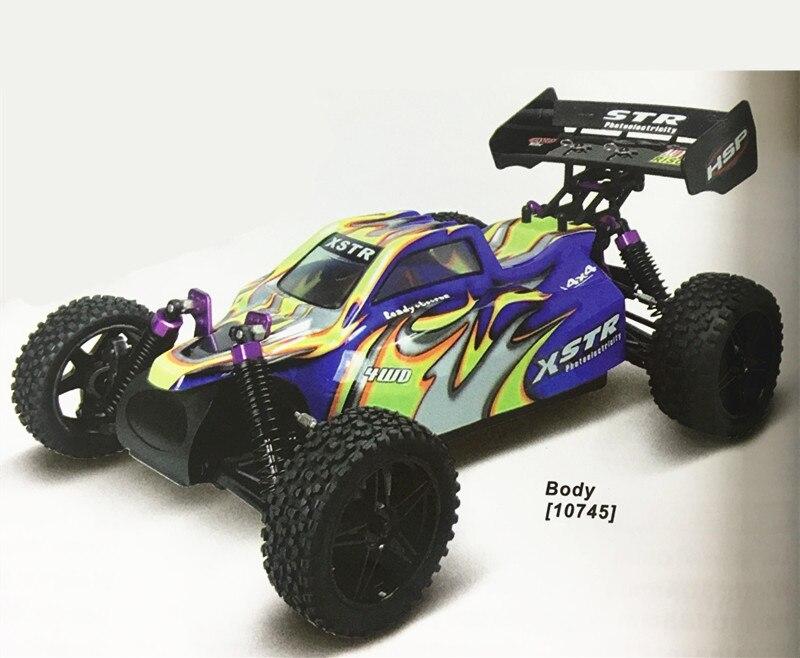 HSP Racing 94107 Rc Auto Elektrische Power 4wd 1/10 Skala Off Road Buggy XSTR Hohe Geschwindigkeit Hobby Ähnliche REDCAT Racing