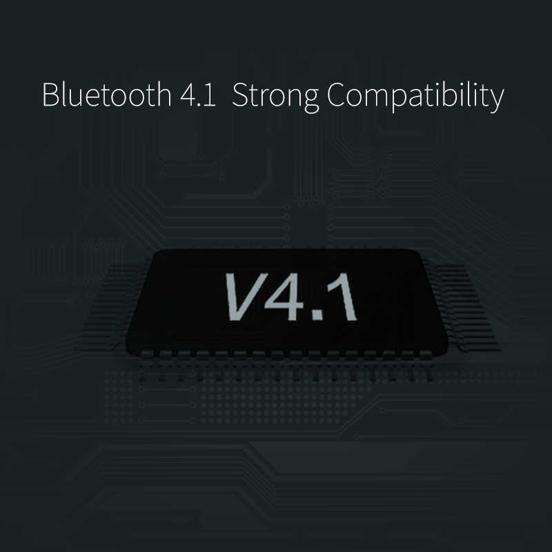 QCY Bluetooth słuchawki bezprzewodowe mini słuchawki zestaw głośnomówiący połączenia biznesowe muzyka stereo słuchawki douszne z mikrofonem