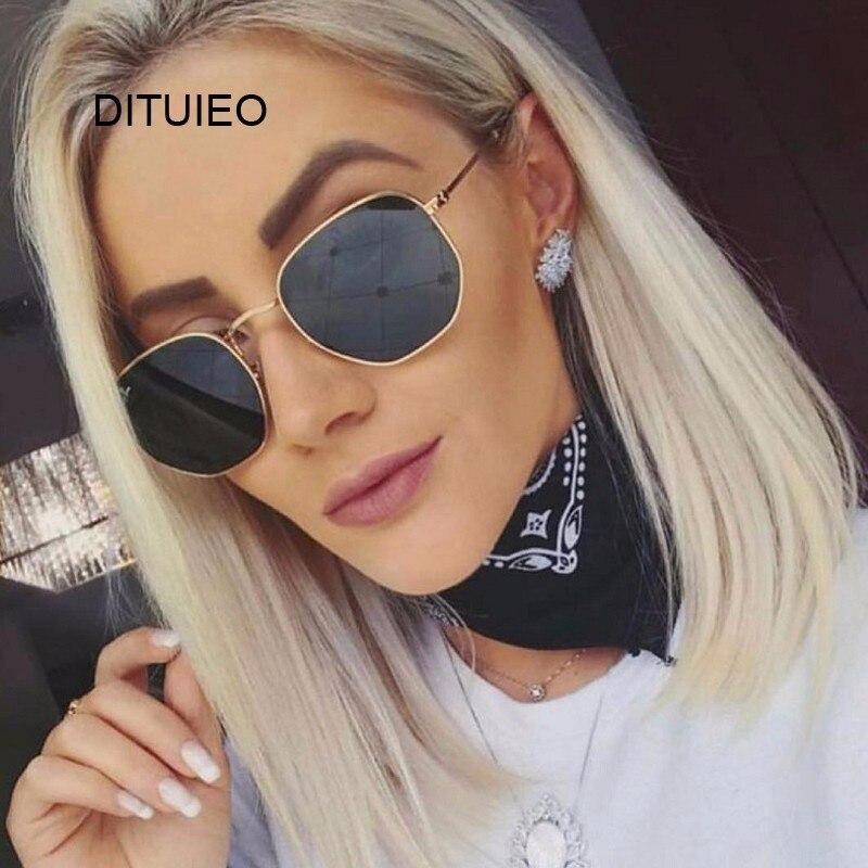 シールドサングラス女性ブランドデザイナーミラーレトロサングラス女性の高級サングラス女性黒 Oculos