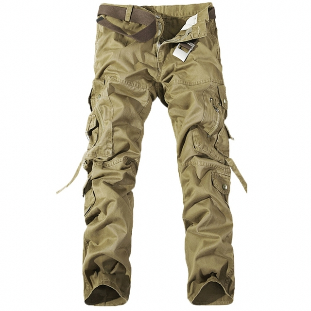 7506e1a291c97 AmberHeard Tactical Cargo Pants Men Camo Jogger Army Military Cotton  Trousers Casual Multi Pocket Man Combat SWAT Pant Plus Size
