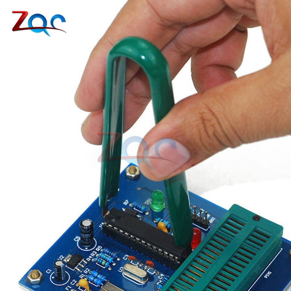 U Type flat IC chip protect plier ROM circuit board extractor removal pullerME