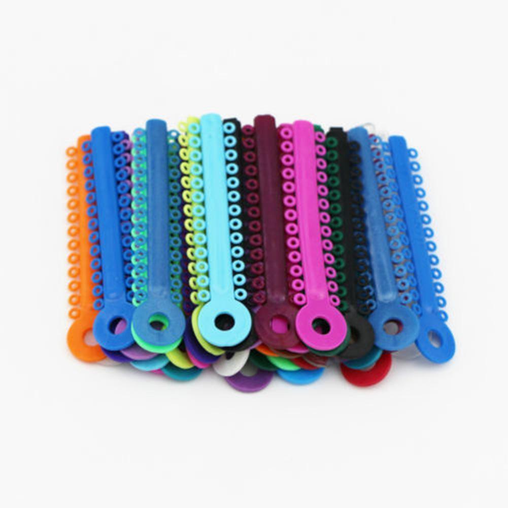 40 Sticks / Pack Multi Color Dental Ligature Ties Orthodontics ...