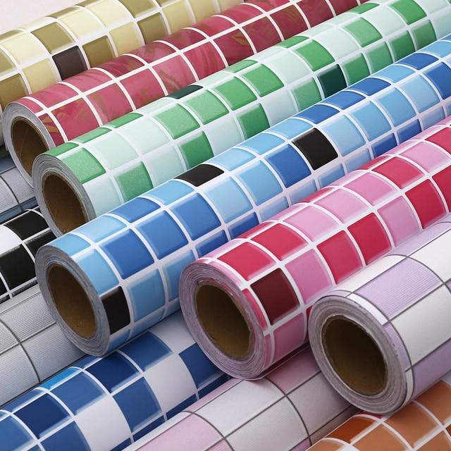 Mosaïque papier peint adhésif étanche papier peint cuisine salle de ...
