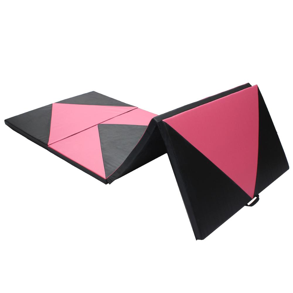 HOT Body Building Lose Weight Fitness Sport Foldable Mats Non slip Gym Exercise Training Yoga Mat Yoga Pads 120*300*5cm