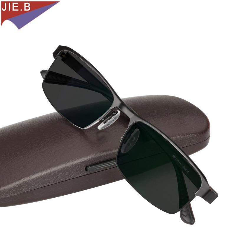 Titanlegierung Sonnenbrille Übergang Photochrome Lesebrille für Männer Hyperopie Presbyopie mit dioptrien Presbyopie Brille