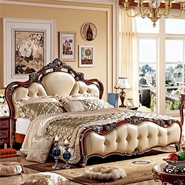 4a7068d44c54 European style luxury king size wooden bedroom furniture/classic bed-in Bedroom  Sets from Furniture on Aliexpress.com | Alibaba Group