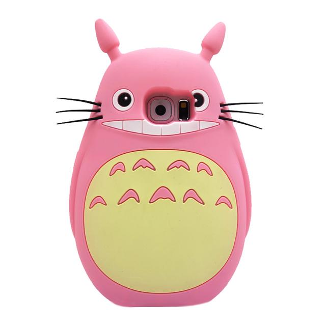 Totoro Soft Silicone Case For Samsung Galaxy S3/S4/S6/A3/A5/A7/E7