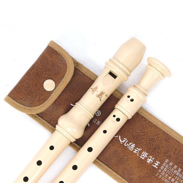 Chinese Vertical Flute C Key German Soprano Plastic