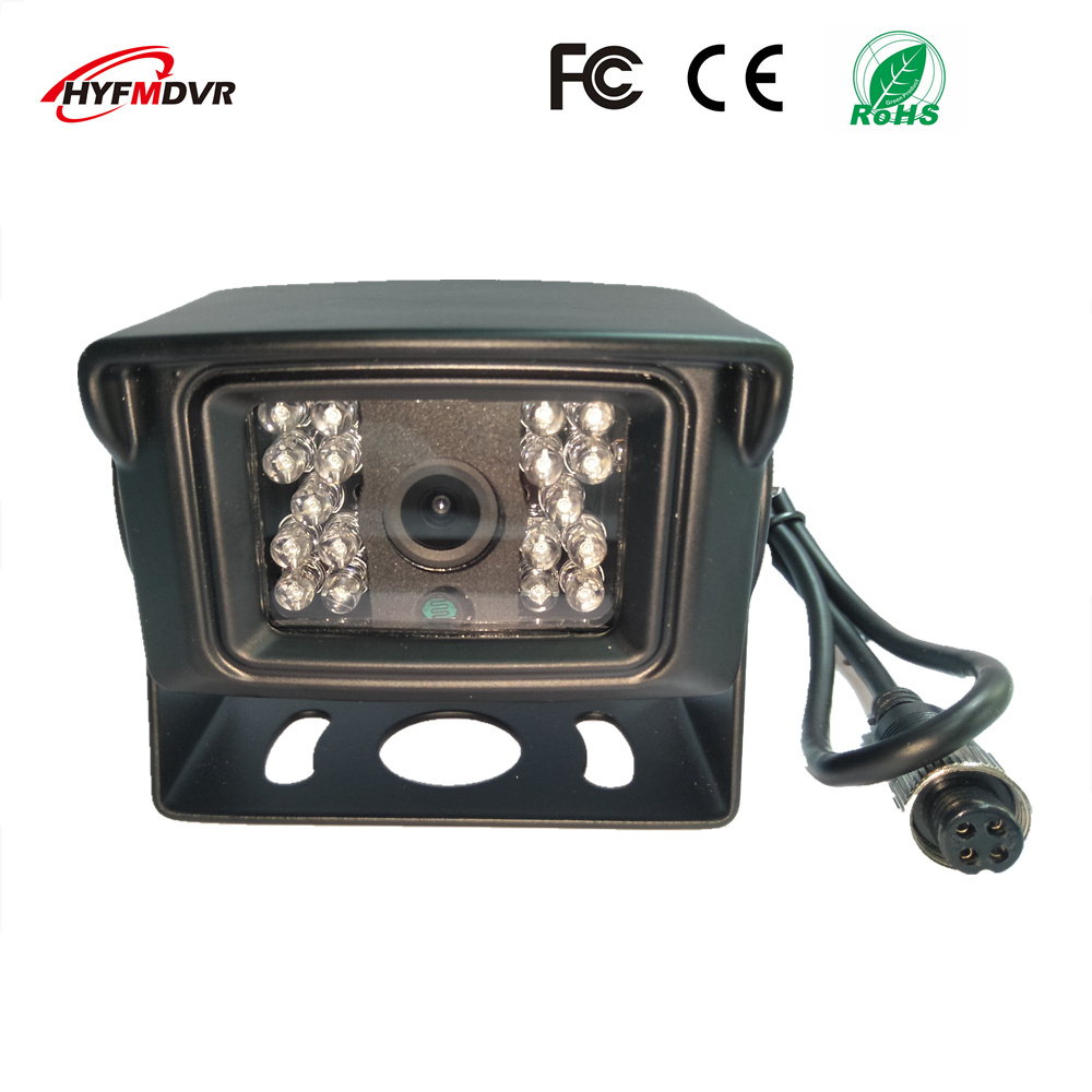 School bus 3 inches square camera SONY 600TVL waterproof probe metal shell AHD720P/960P1080P CMOS wide-angle monitoring