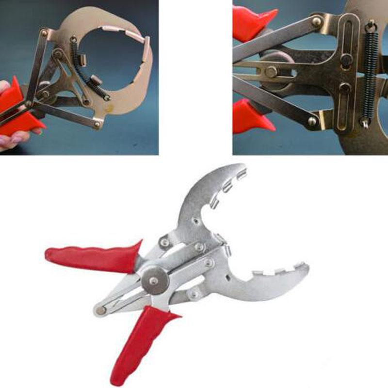 Car Adjustable Piston Ring Expander Pliers Install Remover Repair Tools 80-120MM