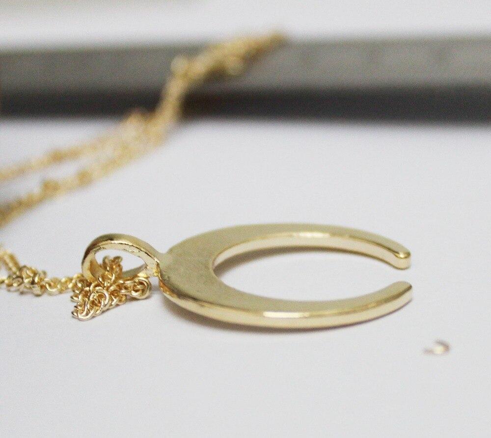 Gold-Silver-Horn-Halskette-Pendant-Necklace-C-Word-Pendant-Necklace-Collier-Femme-Xl275 (2)