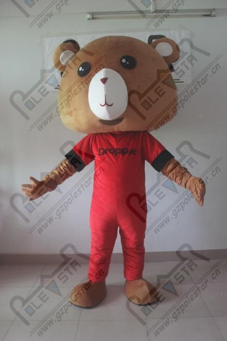 brown bear mascot costumes qulaity cartoon teddy bear costumes yogi bear walking actor